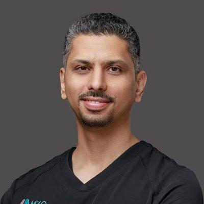 Osteopath Al Nakheel MYO Osteopathy Medical Center Dr. Nawaf Al Aqeel
